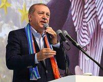 Erdoğandan Demirtaşa sert tepki