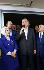 Erdoğan, TÜRGEV Emine Erdoğan Kız Yurdunun açılışına katıldı