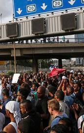 Etiyopyalıların İsraildeki isyanı büyüyor