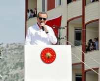 """Erdoğan: """"Demokrasi tehditle olmaz"""""""