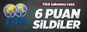 FIFAdan Türk kulübüne 6 puan silme cezası!