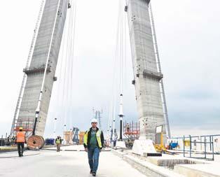 3üncü köprü tam gaz