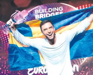 Eurovisionun galibi İsveç