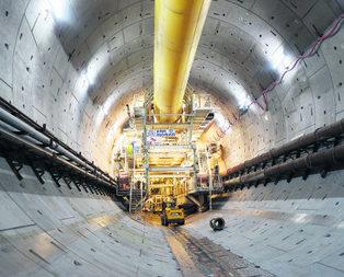 Avrasya Tüneli ilk kez görüntülendi