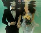 Su altında evlilik teklifi