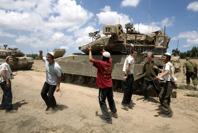İsrail katliamı böyle kutluyor
