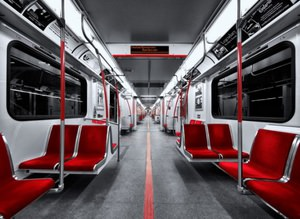 ��te d�nyan�n en g�zel metro vagonlar�