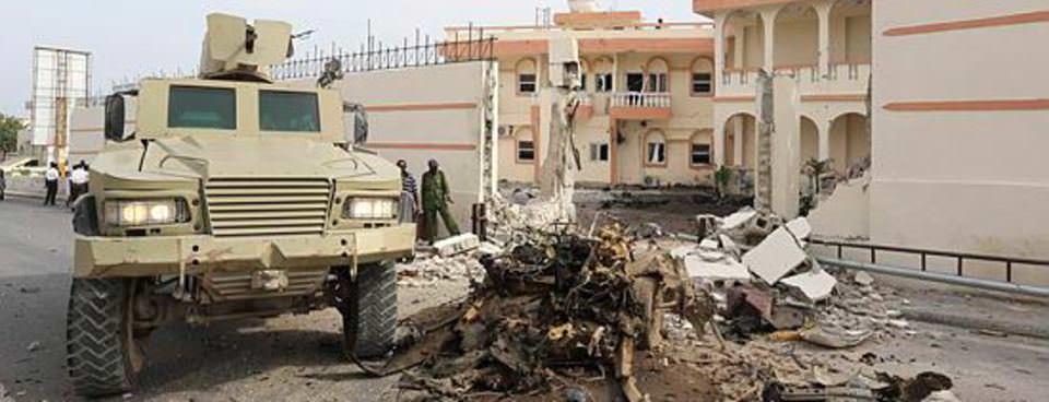 İşte Somalideki saldırıdan kareler