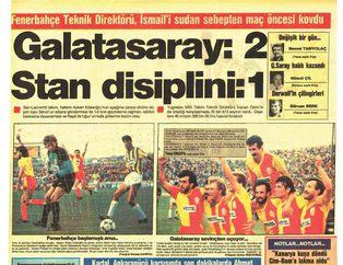 1986'dan beri Fenerbahçe-Galatasaray derbisinin manşetleri