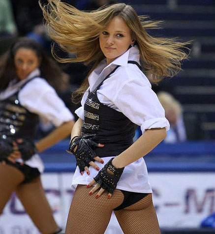 Русские девушки из групп поддержки (41 фото) .