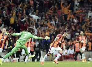 Galatasaray-Fenerbahçe maçının önemli anları
