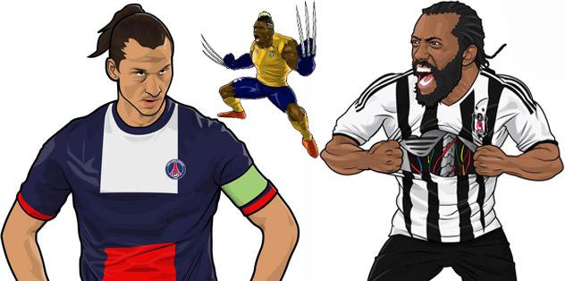 Twitter fenomeninden futbolcu çizimleri