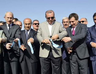 Cumhurba�kan� Erdo�an Nissibi K�pr�s�'n�n a��l���nda