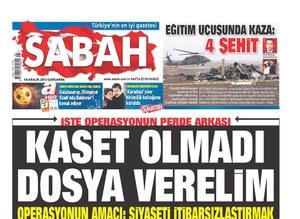 İşteTürkiye'yi polis-yargı darbesinden kurtaran manşetler
