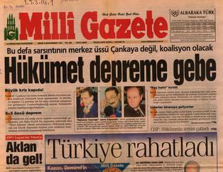 Türkiye koalisyon döneminde böyle kaosa gitmi�ti