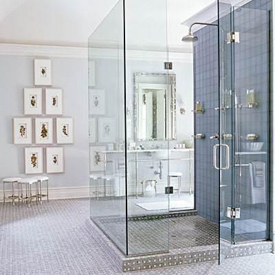 душ в ванной фото