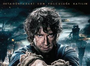 Hobbit Be� Ordunun Sava�� filminden kareler