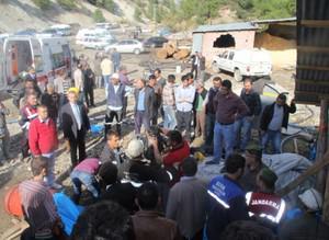 Karaman'da kömür ocağında patlama