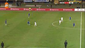 Gol perdesini Mehmet Topuz açtı!