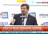 Başbakan'dan PKK'ya silah bırakma çağrısına ilk yorum