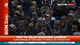Erdoğan: Türkiye'de demokrasi katliamı yaşandı