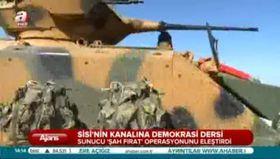 Sisi'nin televizyonunda demokrasi dersi