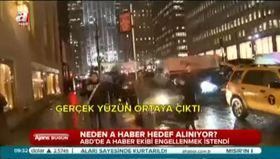 A Haber'e ABD'de provokatif saldırı