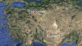 Konya'da askeri uçak nasıl düştü(Animasyon)