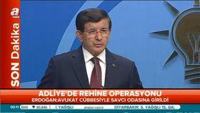 Davutoğlu: Türk yargısına saldırı!