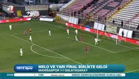 Manisaspor-Galatasaray: 1-1 (Maç Özeti)