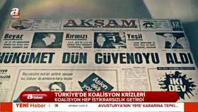 Türkiye'de koalisyon krizleri