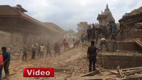 Nepal'de 7,9 büyüklüğünde deprem: En az 600 ölü