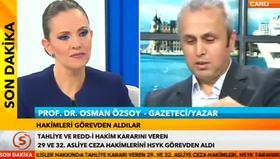 Osman Özsoy STV'de Erdoğan'ı ölümle tehdit etti