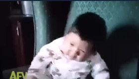 Bebeklerin hapşırıkla imtihanı