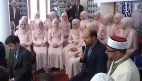 Bilal Erdoğan hatim merasiminde Kur'an-ı Kerim okudu