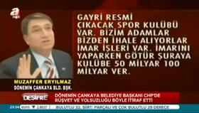 CHP'de rüşvetin itirafı