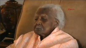 Dünyanın en yaşlı kadını doğum gününü kutladı