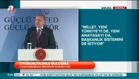 Erdoğan'dan sert yanıt