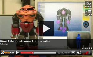 robot kinect humanoid xbox