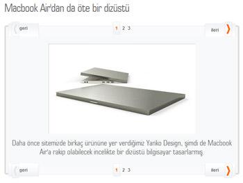 macbook air yanko minimal konsept design