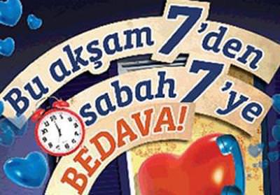 T�rk Telekom, 7'den 7'ye bedava kampanyas�n� uzatt�