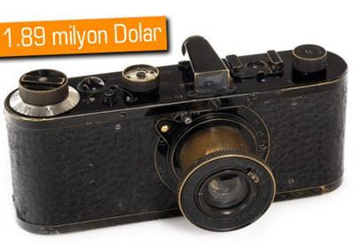 1923 Leica 0 serisi foto�raf makinas�, d�nyan�n en pahal�s� oldu