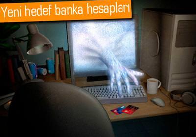 Banka hesaplar�na truva at� tehdidi