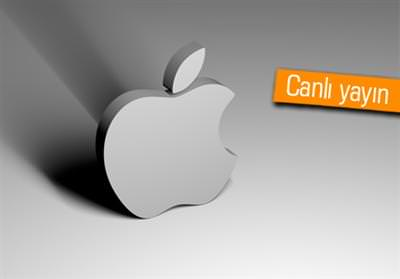 iPhone 5 tan�t�m�ndan canl� yay�n