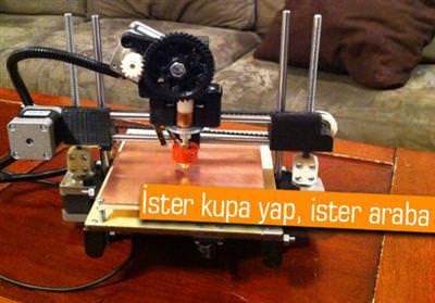 Printrbot: Ucuz yollu 3D yaz�c� ister misiniz?