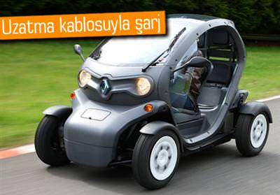 Renault Twizy ile �ehre elektrik geldi