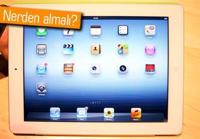 En ucuz Yeni iPad nereden al�n�r?