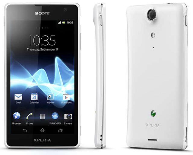Sony xperia SX ve GX iki yeni model daha.