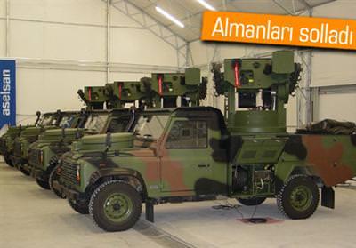 Türkiye nin ilk hava savunma sistem i teslim edildi