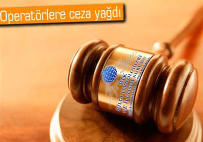 BTK'dan Avea, Turkcell ve Vodafone'a ağır ceza